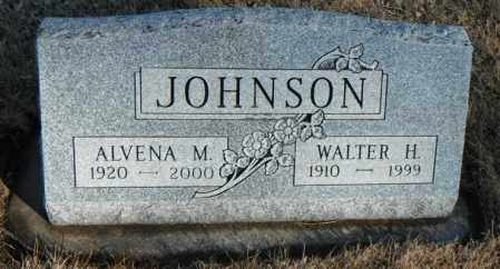 JOHNSON, ALVENA M. - Minnehaha County, South Dakota | ALVENA M. JOHNSON - South Dakota Gravestone Photos
