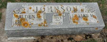 JOHNSON, ALDEN ODEN - Minnehaha County, South Dakota | ALDEN ODEN JOHNSON - South Dakota Gravestone Photos
