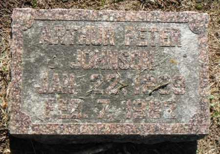 JOHNSON, ARTHUR PETER - Minnehaha County, South Dakota   ARTHUR PETER JOHNSON - South Dakota Gravestone Photos