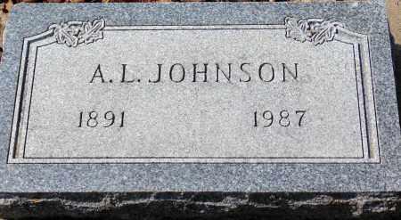 JOHNSON, A.L. - Minnehaha County, South Dakota | A.L. JOHNSON - South Dakota Gravestone Photos