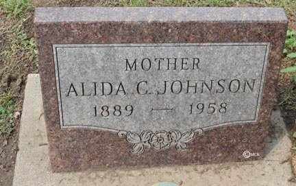 JOHNSON, ALIDA C. - Minnehaha County, South Dakota | ALIDA C. JOHNSON - South Dakota Gravestone Photos