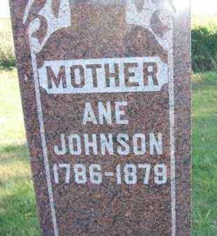 JOHNSON, ANE - Minnehaha County, South Dakota | ANE JOHNSON - South Dakota Gravestone Photos