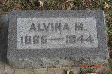 JOHNSON, ALVINA A. - Minnehaha County, South Dakota | ALVINA A. JOHNSON - South Dakota Gravestone Photos