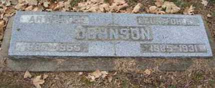 JOHNSON, LAURA - Minnehaha County, South Dakota | LAURA JOHNSON - South Dakota Gravestone Photos
