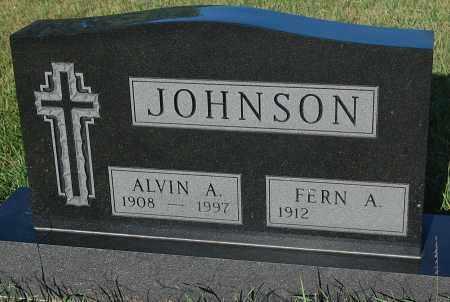 JOHNSON, ALVIN A. - Minnehaha County, South Dakota | ALVIN A. JOHNSON - South Dakota Gravestone Photos