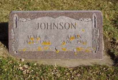 JOHNSON, ALBIN - Minnehaha County, South Dakota | ALBIN JOHNSON - South Dakota Gravestone Photos