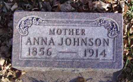 JOHNSON, ANNA - Minnehaha County, South Dakota | ANNA JOHNSON - South Dakota Gravestone Photos