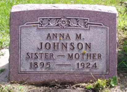 JOHNSON, ANNA M. - Minnehaha County, South Dakota | ANNA M. JOHNSON - South Dakota Gravestone Photos