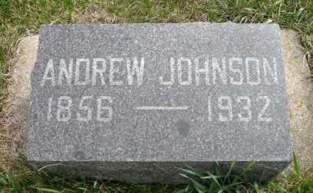 JOHNSON, ANDREW - Minnehaha County, South Dakota | ANDREW JOHNSON - South Dakota Gravestone Photos
