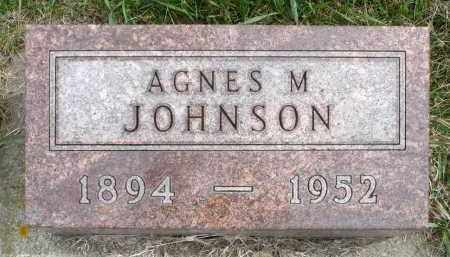 JOHNSON, AGNES M. - Minnehaha County, South Dakota   AGNES M. JOHNSON - South Dakota Gravestone Photos