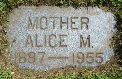 JOHNSON, ALICE M. - Minnehaha County, South Dakota   ALICE M. JOHNSON - South Dakota Gravestone Photos