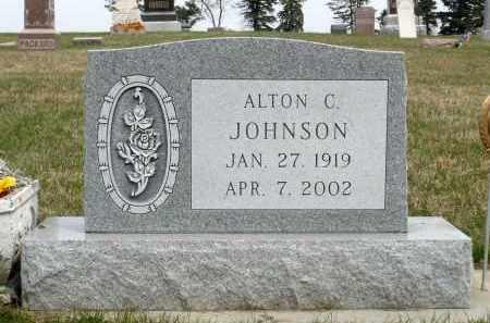 JOHNSON, ALTON CURTIS - Minnehaha County, South Dakota | ALTON CURTIS JOHNSON - South Dakota Gravestone Photos