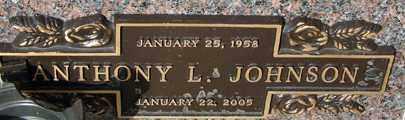 JOHNSON, ANTHONY L. - Minnehaha County, South Dakota   ANTHONY L. JOHNSON - South Dakota Gravestone Photos
