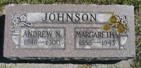 JOHNSON, ANDREW N. - Minnehaha County, South Dakota | ANDREW N. JOHNSON - South Dakota Gravestone Photos