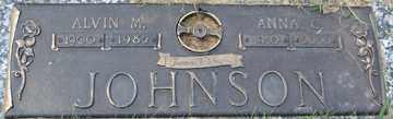 JOHNSON, ANNA C. - Minnehaha County, South Dakota | ANNA C. JOHNSON - South Dakota Gravestone Photos