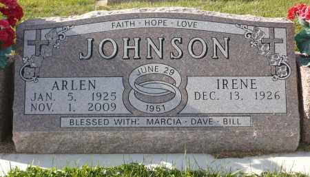 JOHNSON, ARLEN - Minnehaha County, South Dakota | ARLEN JOHNSON - South Dakota Gravestone Photos