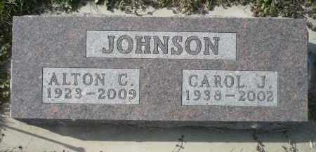 JOHNSON, CAROL J. - Minnehaha County, South Dakota | CAROL J. JOHNSON - South Dakota Gravestone Photos