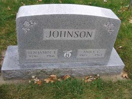 JOHNSON, ANNA C, - Minnehaha County, South Dakota | ANNA C, JOHNSON - South Dakota Gravestone Photos