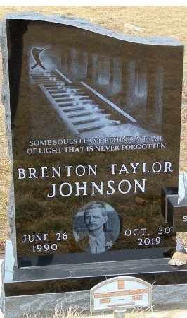 JOHNSON, BRENTON TAYLOR - Minnehaha County, South Dakota   BRENTON TAYLOR JOHNSON - South Dakota Gravestone Photos