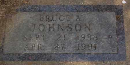 JOHNSON, BRUCE A. - Minnehaha County, South Dakota | BRUCE A. JOHNSON - South Dakota Gravestone Photos