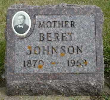 JOHNSON, BERET - Minnehaha County, South Dakota | BERET JOHNSON - South Dakota Gravestone Photos