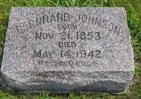 JOHNSON, BERNHARD - Minnehaha County, South Dakota | BERNHARD JOHNSON - South Dakota Gravestone Photos