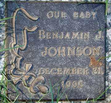JOHNSON, BENJAMIN J. - Minnehaha County, South Dakota | BENJAMIN J. JOHNSON - South Dakota Gravestone Photos