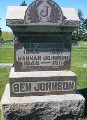 JOHNSON, HANNAH - Minnehaha County, South Dakota | HANNAH JOHNSON - South Dakota Gravestone Photos