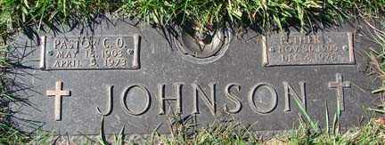 JOHNSON, C.O. - Minnehaha County, South Dakota | C.O. JOHNSON - South Dakota Gravestone Photos