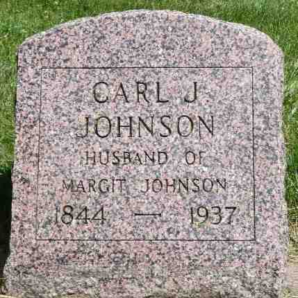 JOHNSON, CARL J. - Minnehaha County, South Dakota   CARL J. JOHNSON - South Dakota Gravestone Photos