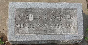 JOHNSON, CHARLES G. - Minnehaha County, South Dakota | CHARLES G. JOHNSON - South Dakota Gravestone Photos