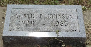 JOHNSON, CURTIS E. - Minnehaha County, South Dakota | CURTIS E. JOHNSON - South Dakota Gravestone Photos
