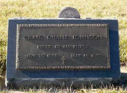 JOHNSON, CRAIG DUANE - Minnehaha County, South Dakota | CRAIG DUANE JOHNSON - South Dakota Gravestone Photos