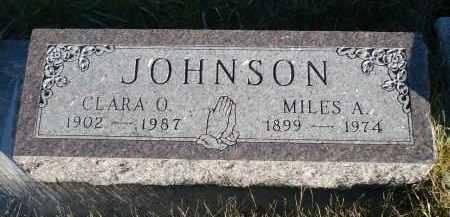 JOHNSON, CLARA O. - Minnehaha County, South Dakota | CLARA O. JOHNSON - South Dakota Gravestone Photos