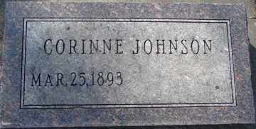 JOHNSON, CORINNE - Minnehaha County, South Dakota | CORINNE JOHNSON - South Dakota Gravestone Photos