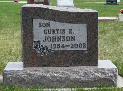 JOHNSON, CURTIS E. - Minnehaha County, South Dakota | CURTIS E. JOHNSON - South Dakota Gravestone Photos