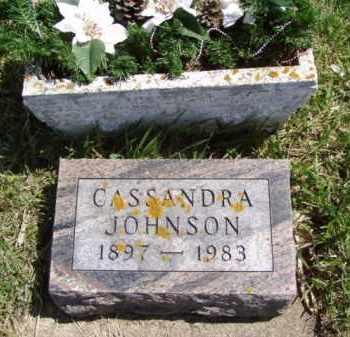 JOHNSON, CASSANDRA - Minnehaha County, South Dakota | CASSANDRA JOHNSON - South Dakota Gravestone Photos