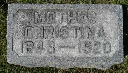 JOHNSON, CHRISTINA - Minnehaha County, South Dakota | CHRISTINA JOHNSON - South Dakota Gravestone Photos