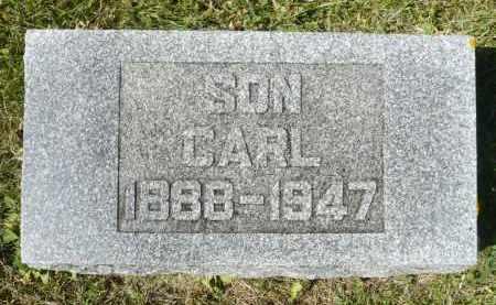 JOHNSON, CARL - Minnehaha County, South Dakota | CARL JOHNSON - South Dakota Gravestone Photos