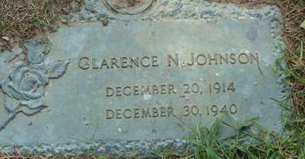 JOHNSON, CLARENCE N. - Minnehaha County, South Dakota | CLARENCE N. JOHNSON - South Dakota Gravestone Photos