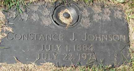 JOHNSON, CONSTANCE J. - Minnehaha County, South Dakota | CONSTANCE J. JOHNSON - South Dakota Gravestone Photos