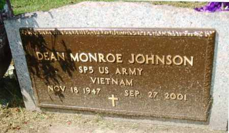 JOHNSON, DEAN MONROE - Minnehaha County, South Dakota | DEAN MONROE JOHNSON - South Dakota Gravestone Photos