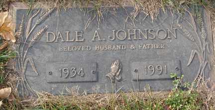 JOHNSON, DALE A. - Minnehaha County, South Dakota | DALE A. JOHNSON - South Dakota Gravestone Photos
