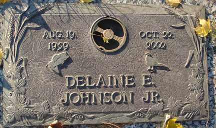 JOHNSON, DELAINE E.  JR. - Minnehaha County, South Dakota   DELAINE E.  JR. JOHNSON - South Dakota Gravestone Photos