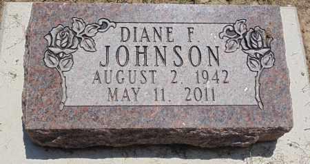JOHNSON, DIANE F. - Minnehaha County, South Dakota | DIANE F. JOHNSON - South Dakota Gravestone Photos