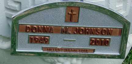 JOHNSON, DONNA M. - Minnehaha County, South Dakota | DONNA M. JOHNSON - South Dakota Gravestone Photos