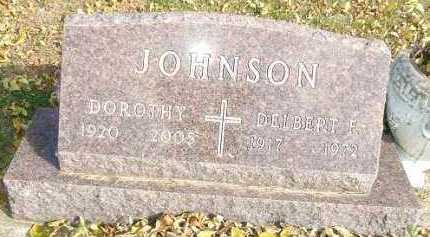 JOHNSON, DELBERT F. - Minnehaha County, South Dakota | DELBERT F. JOHNSON - South Dakota Gravestone Photos