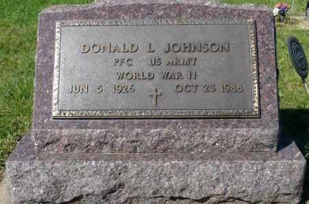 JOHNSON, DONALD L. (WWII) - Minnehaha County, South Dakota | DONALD L. (WWII) JOHNSON - South Dakota Gravestone Photos