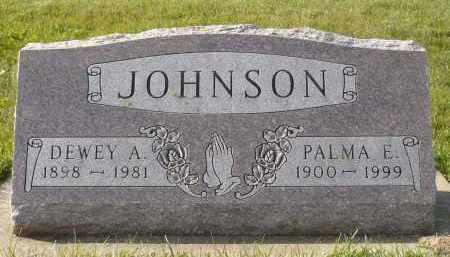 JOHNSON, PALMA E. - Minnehaha County, South Dakota | PALMA E. JOHNSON - South Dakota Gravestone Photos