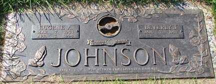 JOHNSON, BEVERLY J. - Minnehaha County, South Dakota | BEVERLY J. JOHNSON - South Dakota Gravestone Photos